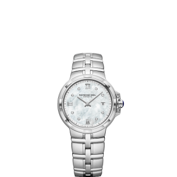 Ladies Stainless Steel Mother of Pearl Dial Tango Watch
