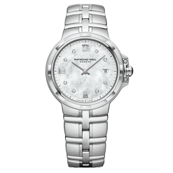 Raymond Weil Ladies Parsifal Mother of Pearl Watch