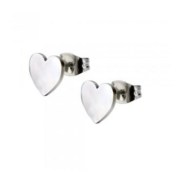 Inox Heart Earrings