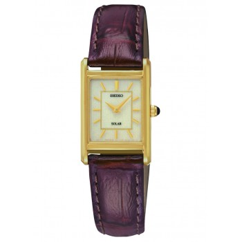Seiko Women's Solar Leather Watch
