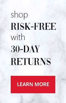shop risk-free with 30 day returns