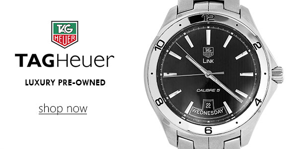 TAG Heuer Pre-Owned Watches - Shop Now